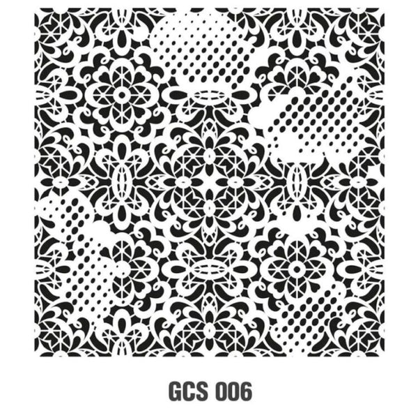 Grunch Wall Stencil Collection |GCS006|45*45cm
