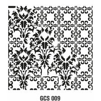 Grunch Wall Stencil Collection |GCS009|25*25cm