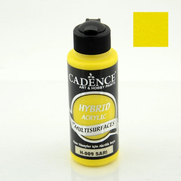 Hybrid Acrylic Paint - YELLOW - 120 ML