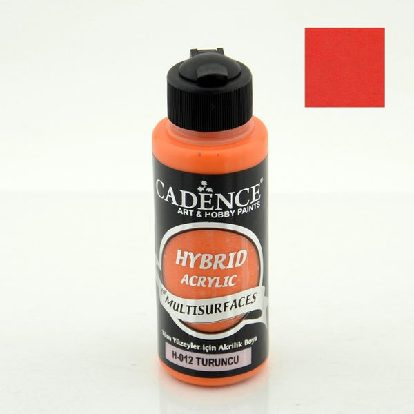 Hybrid Acrylic Paint - ORANGE - 120 ML