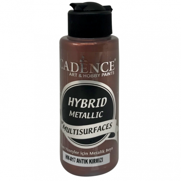 Hybrid Metallic Paint - Antique Red -70 ML