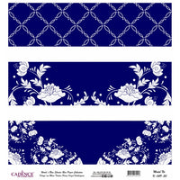 K049 World's Blue Shades Rice Paper