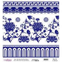K052 World's Blue Shades Rice Paper