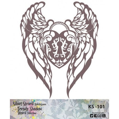 TRENDY SHADOW Stencil - KS-101