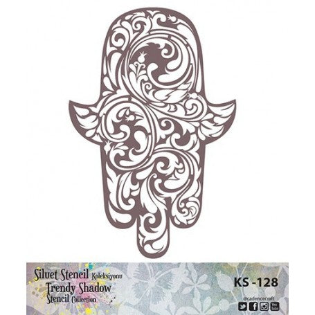TRENDY SHADOW Stencil - KS-128