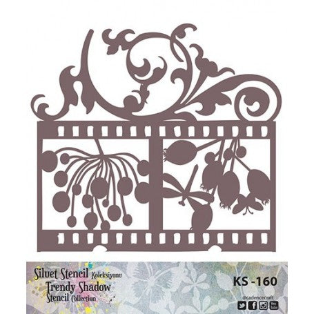 TRENDY SHADOW Stencil - KS-160