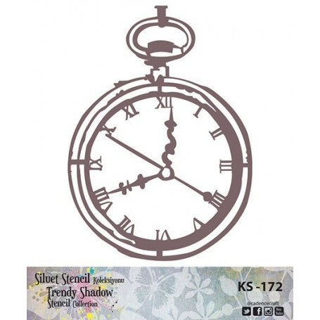 TRENDY SHADOW Stencil - KS-172