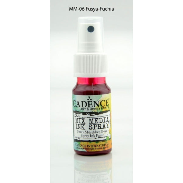 Mix Media Ink Spray Paint - Fuchsia - 25 ML