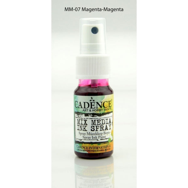 Mix Media Ink Spray Paint - Magenta - 25 ML