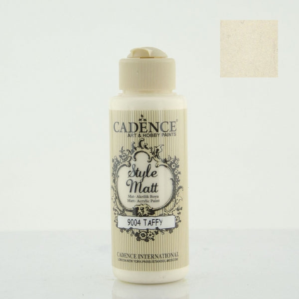 Style Matt Acrylic Paint - Taffy- 120 ML