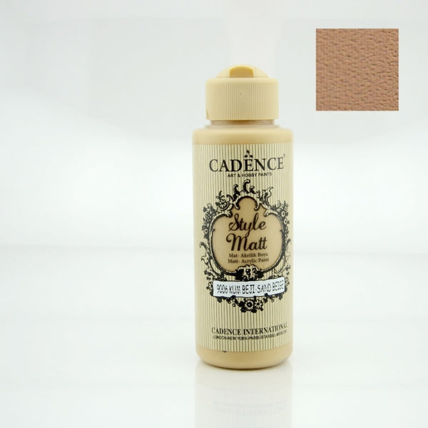 Style Matt Acrylic Paint - Sand beige- 120 ML