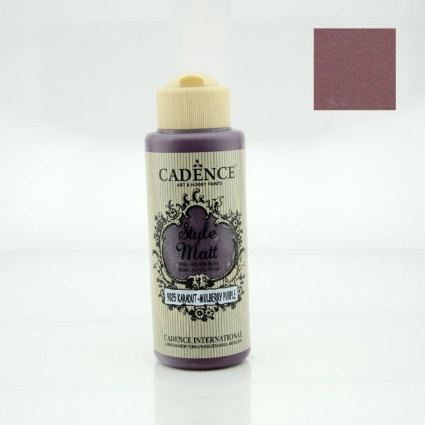 Style MATT Paint - Mulberry purple - 120 ml