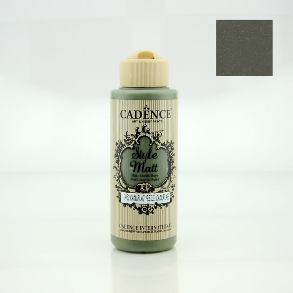 Style Matt Acrylic Paint -  Camuflage green - 120 ML