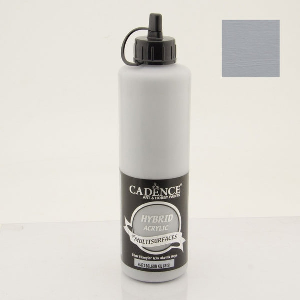 Hybrid Acrylic Paint - Pale Clay Gray- 500 ML
