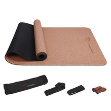 FrenzyBird 5mm Natural Cork Yoga Mat