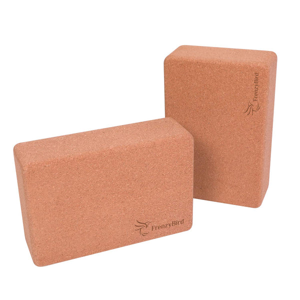 FrenzyBird Yoga Blocks 2 Pack