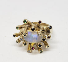 Load image into Gallery viewer, Opal Ring 14k Gold