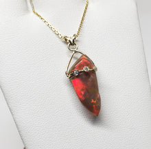 Load image into Gallery viewer, Fire Opal Pendant
