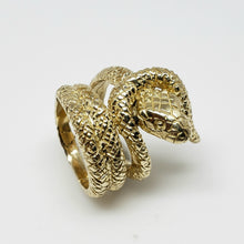 Load image into Gallery viewer, 14k Gold Snake Ring