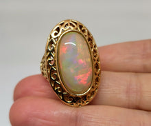 Load image into Gallery viewer, Opal Ring 14k Gold #119