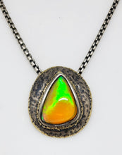 Load image into Gallery viewer, Opal Silver Pendant