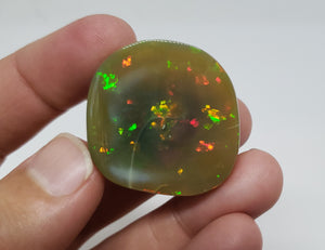 Colorful Ethiopian Brown Opal Specimen #153