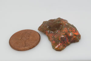 Ethiopian Brown Opal - Hand Carved Gemstone #155