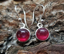 Load image into Gallery viewer, Ruby Silver Earrings