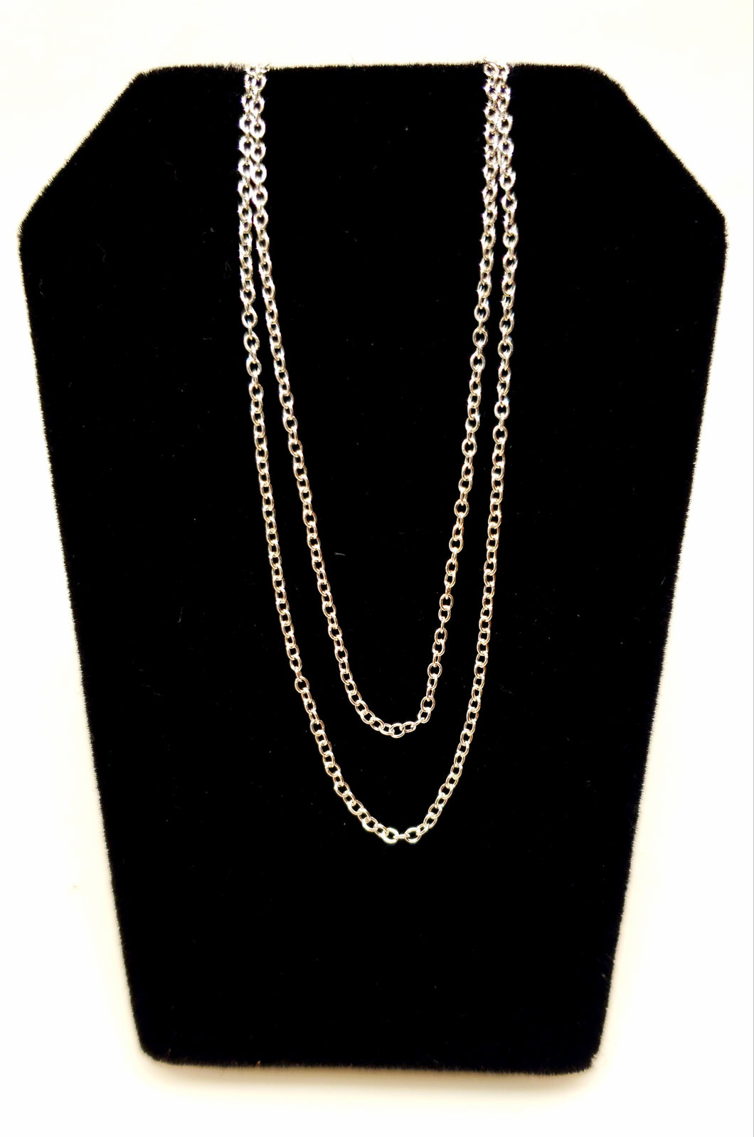 Sterling Silver Chain - 18 inch necklace - Joy#196