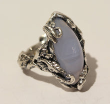 Load image into Gallery viewer, Chalcedony Ring - Sterling Silver #1439