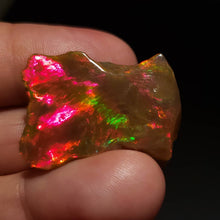 Load image into Gallery viewer, Ethiopian Brown Opal - Hand Carved Gemstone #155