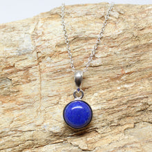 Load image into Gallery viewer, Lapis Lazuli Silver Pendant