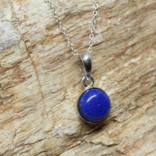 Load image into Gallery viewer, Blue Lapis Pendant- Sterling Silver - Joy#204
