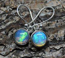 Load image into Gallery viewer, Opal Silver Earrings