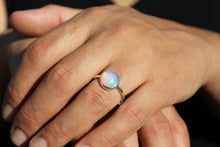 Load image into Gallery viewer, Natural Opal Ring - Sterling Silver - Adjustable Size  - Joy#188