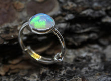 Load image into Gallery viewer, Opal Silver Ring