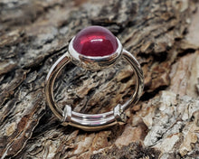 Load image into Gallery viewer, Ruby Silver Ring
