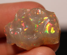 Load image into Gallery viewer, Orange Opal Carving - 16.5 Carat  #1409
