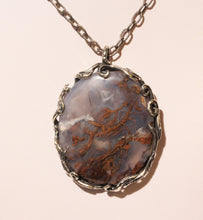 Load image into Gallery viewer, Chalcedony Pendant- Sterling Silver #1396