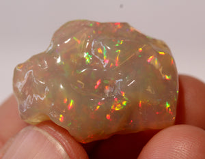 Orange Opal Carving - 16.5 Carat  #1409