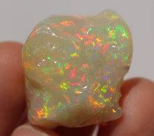 Load image into Gallery viewer, Ethiopian Opal - Natural Loose  Carved Gemstone - 41.0 Carat #1436