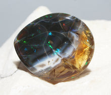 Load image into Gallery viewer, Black Ethiopian Opal Specimen - 52.6 grams #1340