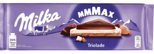 Tablete de Chocolate Mmmax Triolade 300g