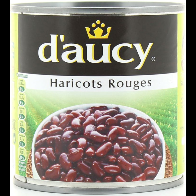Haricots Rouges D'aucy 800g