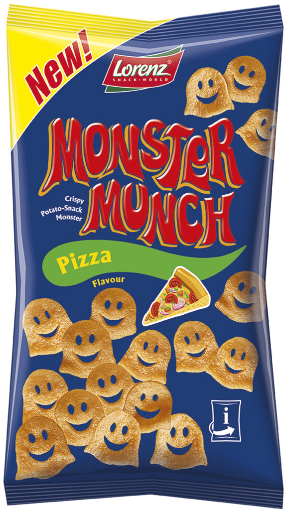Pizza  Monster Munch Lorenz 75G