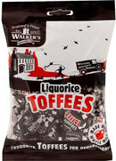 Bonbons Toffees Liquorice Walker's 150g