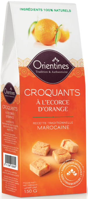 Croquants à l'Ecorce d'Orange Orientines 150g