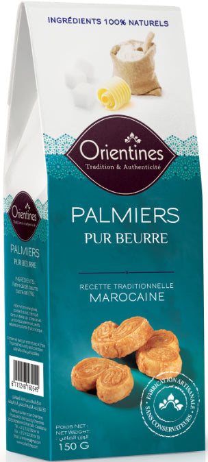Palmiers Pur Beurre Orientines 150g