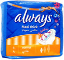 10 Serviettes Maxi Thick Normal Always