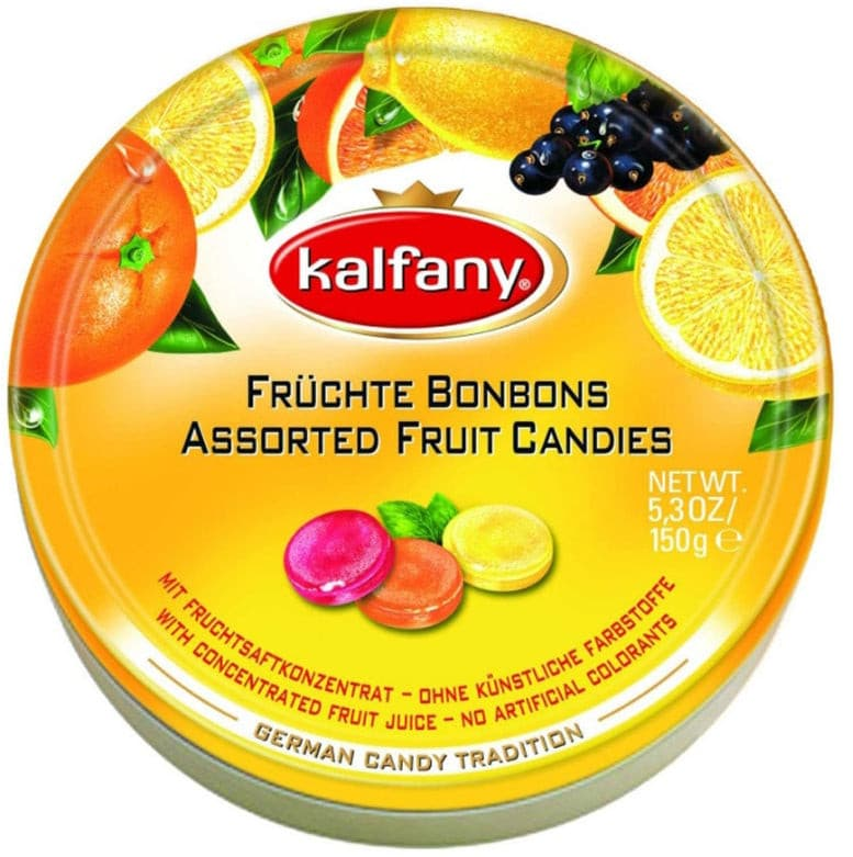 Bonbons Fruits Kalfany 150g